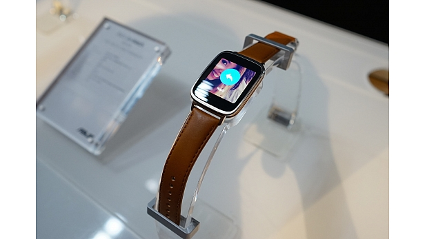 ASUS announces their first wearable device, the ZenWatch