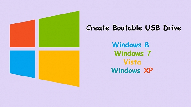 How to Make a Bootable USB Disk for Windows 8, Windows 7, Windows XP