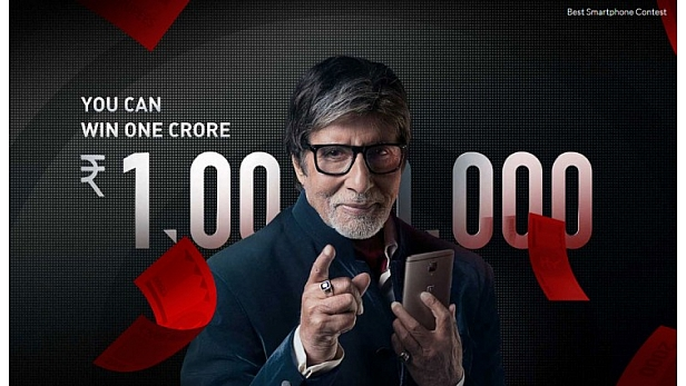 After bringing Amitabh Bachchan on board earlier this week, OnePlus has now announced its 'Best Smartphone Contest' in India which can actually win you Rs 1 crore. The Chinese handset manufacturer has
